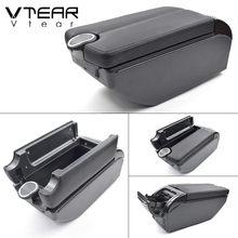 Vtear для Citroen Berlingo автомобильный подлокотник ABS подлокотник для автомобиля-Стайлинг подлокотник коробка центральная консоль аксессуары укра...(Китай)