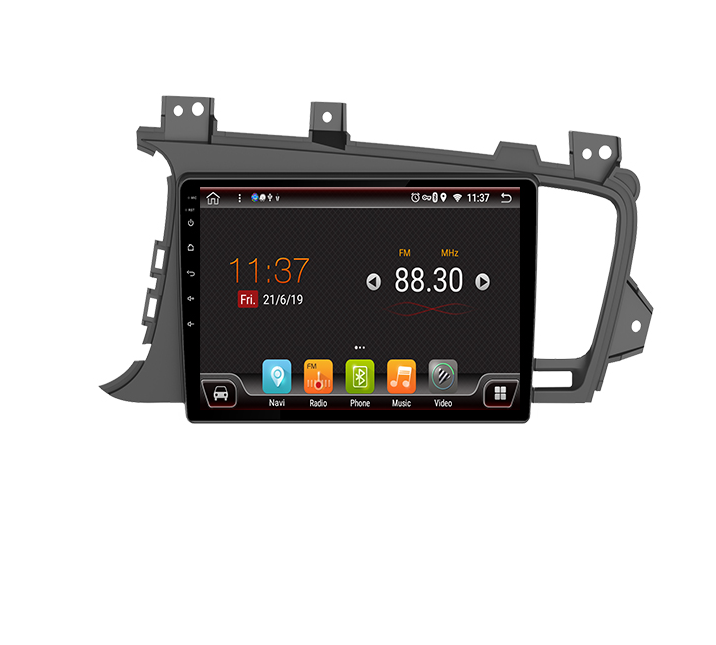 Android 9.0 Auto DVD Speler GPS Navigatie Multimedia Voor Kia K5 Optima 2011 2013 12-15 Navi BT Radio audio Video Stereo System