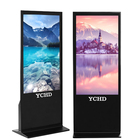65 inch digital signage display stand touch screen advertising players with software