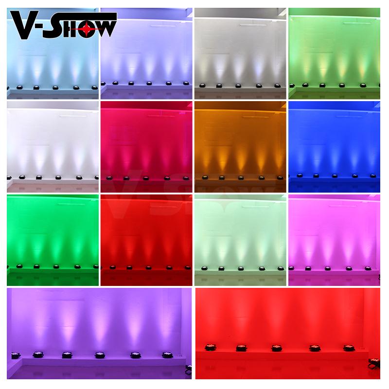 9x18W RGBWA+UV 6in1 LED Battery Par Light for DJ Stage Wedding Led Uplight Wireless Flat Par Light