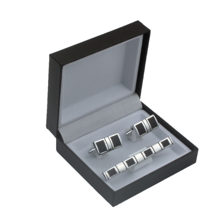 Wholesale bulk stock metal silver custom design your own cufflinks