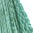 Nylon Lace Custom Nylon Cotton Bubble Lace Fabric For Dress Decoration