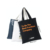 Customized Printed Eco Reusable Large Cotton Canvas Tote Shopping Bag with Two Handles