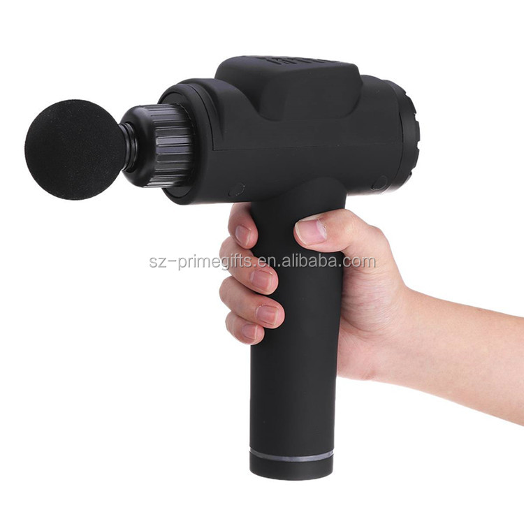 2000Mah Cordless Percussion Electric Muscle Massager Gun with LED Screen