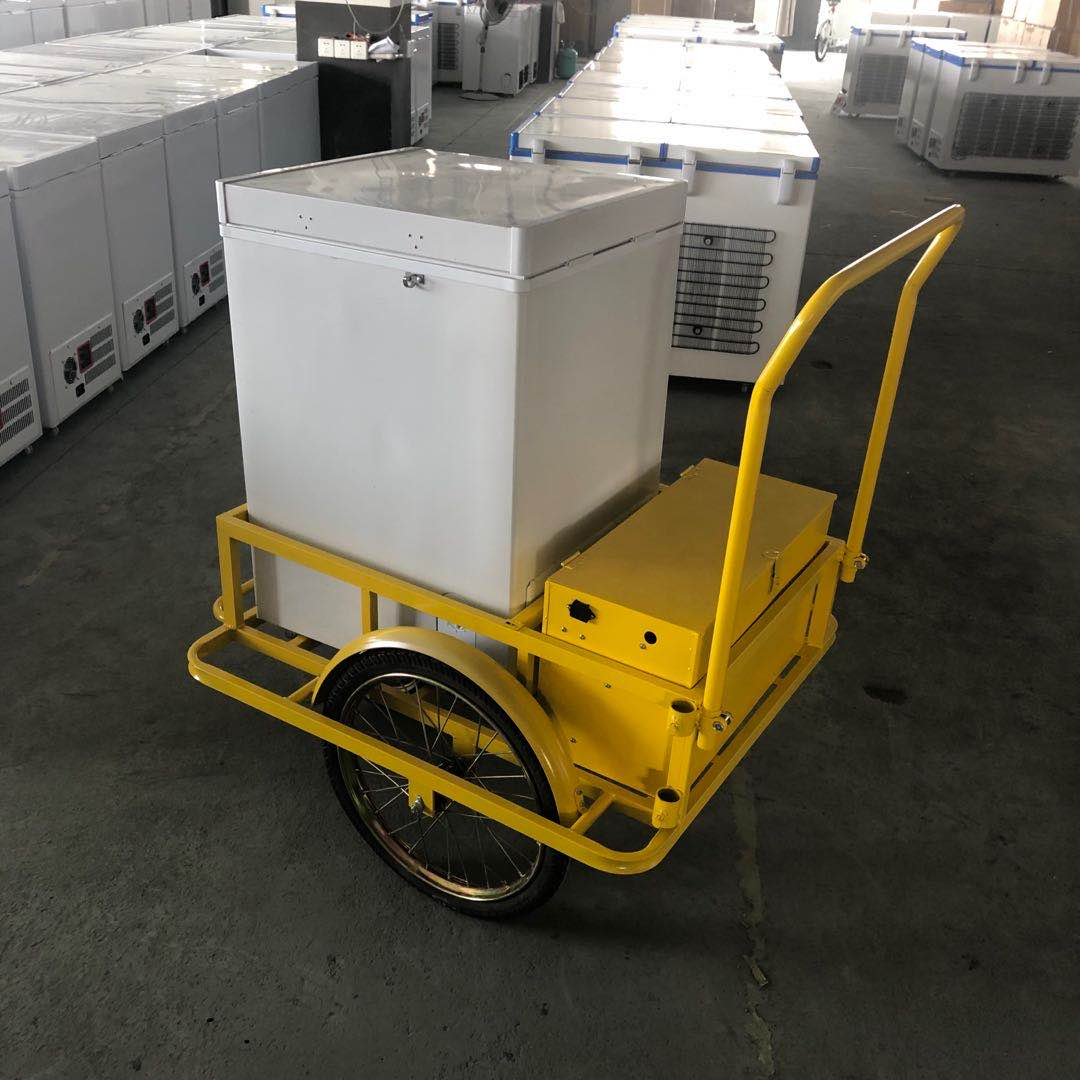 MAYHOPE High quality ice cream truck with solar freezer 12V
