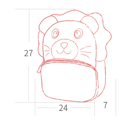 Eco-friendly Children School Bags 3D Cartoon Plush Backpacks Kindergarten Schoolbag Animal Backpack Boys And Girls Schoolbag