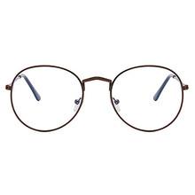 Оправа для очков, прозрачные линзы, круглые поддельные очки, оптические очки, оправа, Прозрачная Круглая оправа для очков 2020(China)
