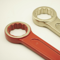 Mirror Polished Double Offset Ring Wrench/mirror Polished Spanner