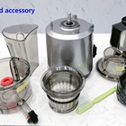 HONGHAO latest slow cold press juicer Vegetable Fruit Extractor Juicer Machine Vertical Reverse Function
