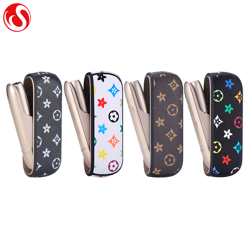 Factory Direct PU Leather Protective Case for IQOS 3.0 Holder Box, 3 colors as shown