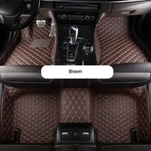 Автомобильные коврики для BMW X5 G05 2018-2019 на заказ, автомобильные аксессуары из искусственной кожи, водонепроницаемые коврики, нескользящий Ав...(Китай)