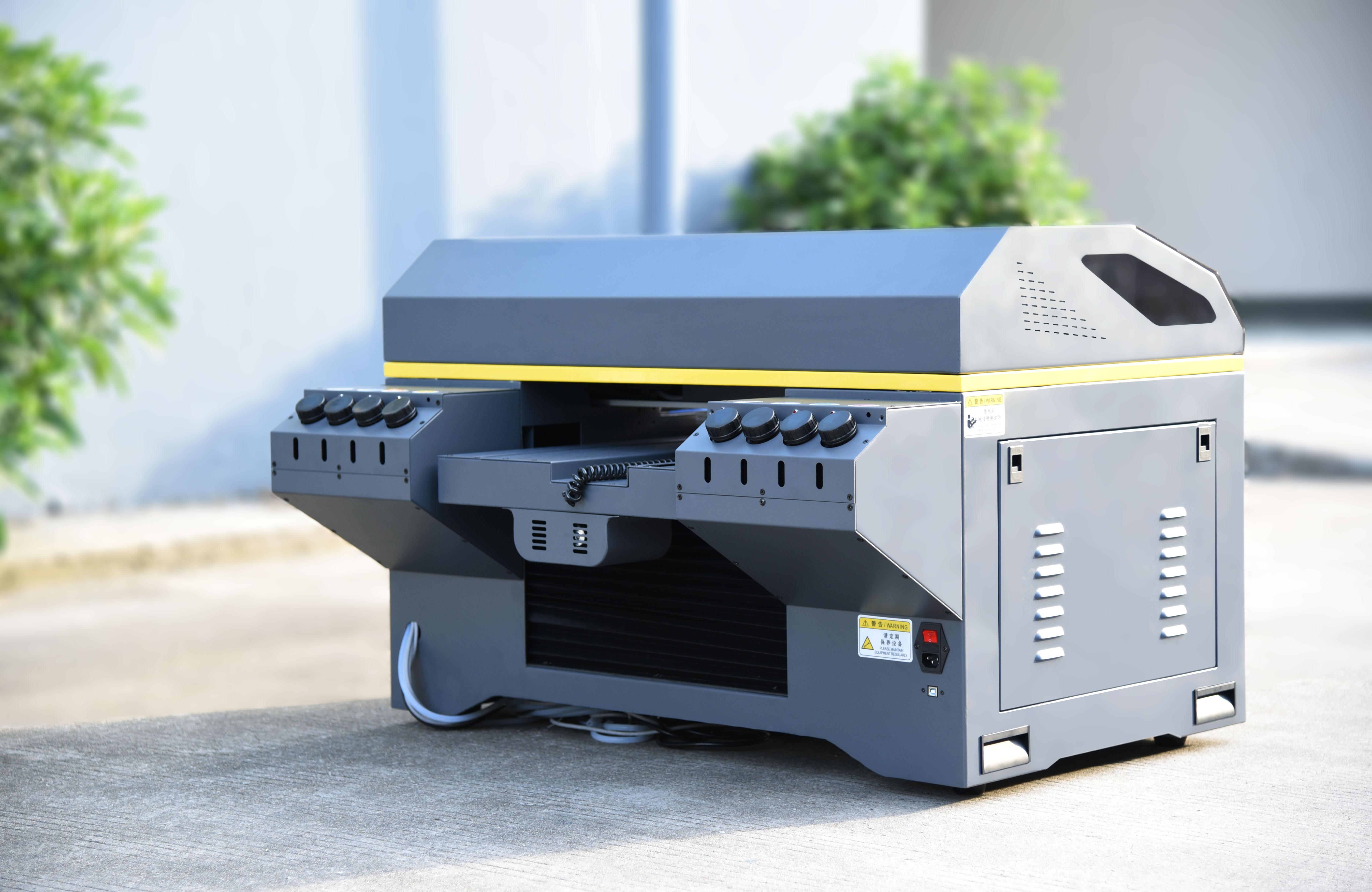 Neuer Inkjet-Flachbett-UV-Drucker A3 Vocano Jet Ceramic 3D