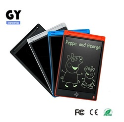Graffiti drawing board lcd writing tablet erase partial 8.5''
