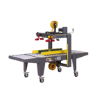 Automatic SUNPACK Semi Automatic Top And Side Belts Case Sealer Machine XT-554TS
