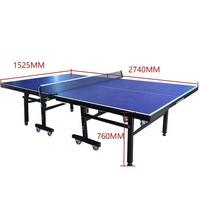 2019 cheap price outdoor table tennis table folding pingpong table