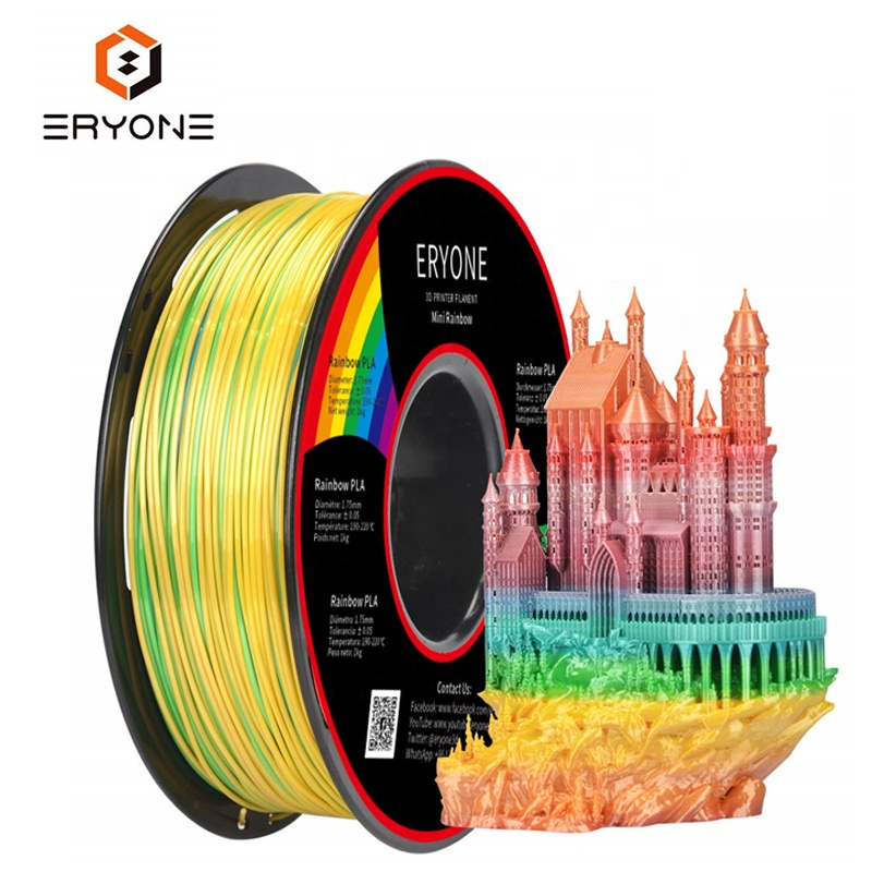 ERYONE Regular PLA Filament White Color  1.75mm 1kg 3D Printer Filament For 3D Printing