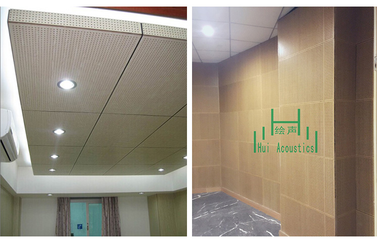 Micro-Perforated Panel Acoustics Micro Perforated MDF Board Micro Hole Acoustic Panel Of Assembly Hall