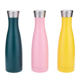 Bpa free FDA approval custom double wall cola shaped drinking vacuum insulated sport stainless steel water bottle