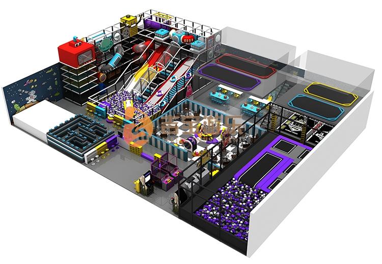 High Quality Plastic Indoor Playground Parts,Kids Modern Indoor Playground For Sale
