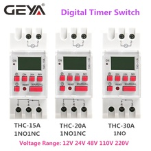GEYA THC15A 20A 30A LCD Digitale Programmabile <span class=keywords><strong>Timer</strong></span> <span class=keywords><strong>Interruttore</strong></span> con la Batteria <span class=keywords><strong>220</strong></span> <span class=keywords><strong>Volt</strong></span> <span class=keywords><strong>Timer</strong></span> 12V DC 24V