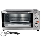 Mechanical Timer Control Home Electric Pizza Convection Ovens