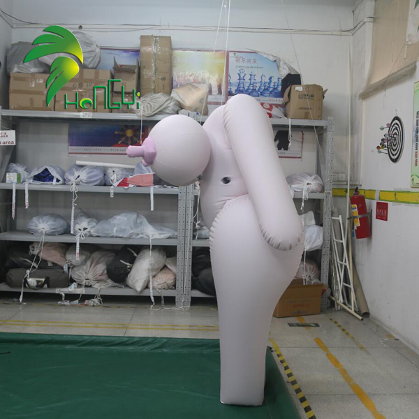 Hot Sexy Inflatable Sexy Girl Suit , Hongyi Inflatable Cosplay Sexy Costume With Big Breasts