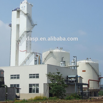 Argon production air separation plant manufacturer with CE ASME NB approval