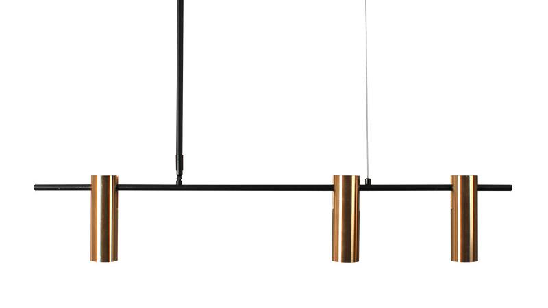 सोना तांबा पीतल लक्जरी नॉर्डिक आधुनिक डिजाइन समायोज्य छत झूमर दीपक लटकन स्पॉट लाइट का नेतृत्व किया