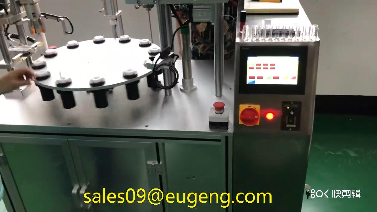 tube filling machine lip gloss filling capping machine