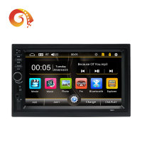 Universal 7 Inch Touch Screen Double 2 Din Auto Navigation Mp5 Video Radio Stereo Audio Car Dvd Player