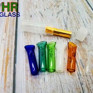 Hot Sale Colorful Glass Smoking Pipes For Tobacco or Weed or Dry Herb Smoking