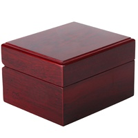 Wood Present Gift Box Rectangle High-Grade Quartz Watches Packing Box