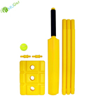 YumuQ 76CM Plastic Beach Cricket Set, Cricket Bat Kit for Single Kids, Youth OR Adult Outdoor Lawn Games