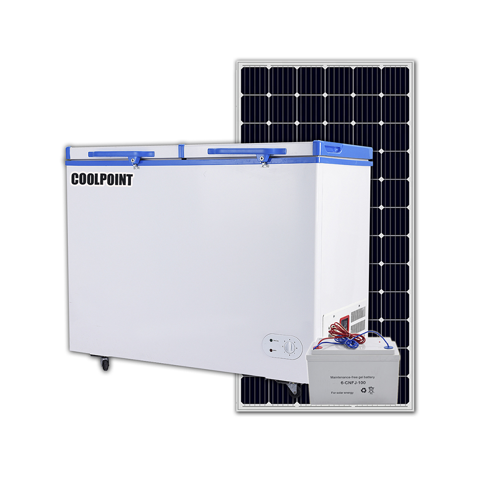 BD/BC-268L DC Solar Chest freezer fridge <strong>refrigerator</strong> for sale