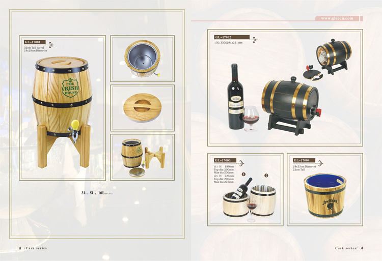stainless steel wholesale 5l wooden kegs