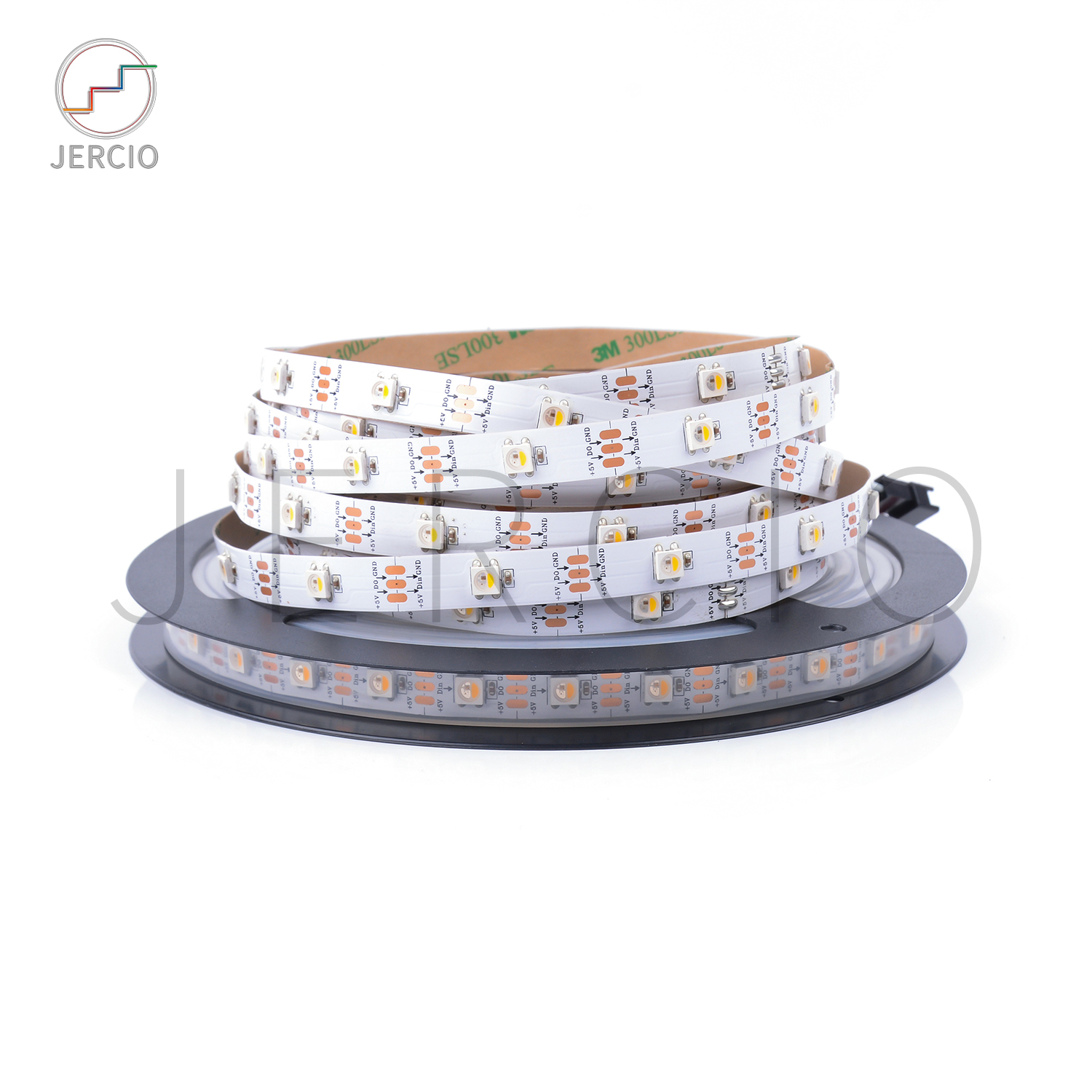 JERCIO SK6812 / WS2812 / XT1511 RGBW 4 in 1 individually addressable smd 5050 led strip with 60leds for decorative advertising