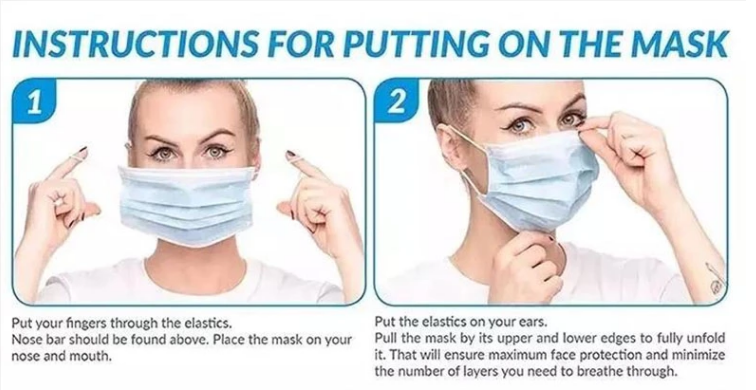 Hot Sale Non-Woven Face Mask Disposable Maks3 Ply Earloop For Healthy Safety made IN China with CE /FDA Certificate
