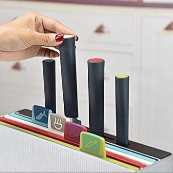 기존 낮은 MOQ 새로운 스타일 9 Pcs 유연한 플라스틱 커팅 보드 주방