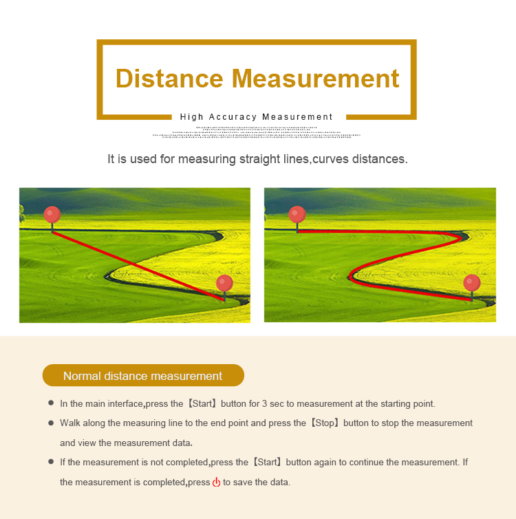 2020 New Arrivals WangGan S1  portable Handheld GPS land meter Irregular terrain measurement tool land gps survey equipment