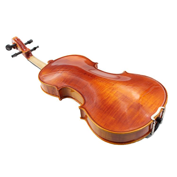 Yashi Handmade High Quality Violin Wholesale Natural Flamed Violin