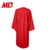 Economy Bachelor Graduation Gown Matte Red
