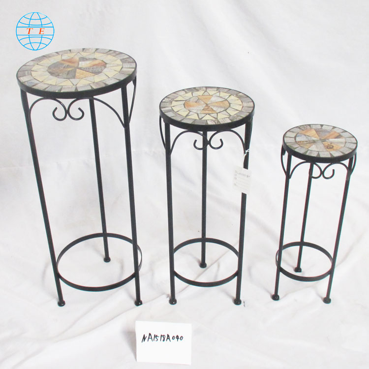 Wholesale Popular Home Design Plant Pot Roller,Cheap metal outdoor garden planter flower stand