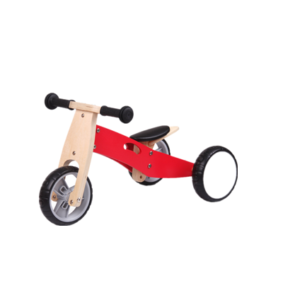 China Factory Of 12 Inch Wood 2 in 1 Kids Balance Bike For Children