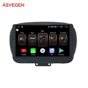 android car multimedia player with gps for Fiat 500X 2014 - 2019 8-core with 2 din car dvd player wifi 4g