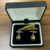 men's fashion cufflinks and tie clip gift sets