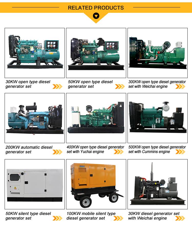 100kw 125kva mobile di alimentazione di tipo silenzioso generatore diesel