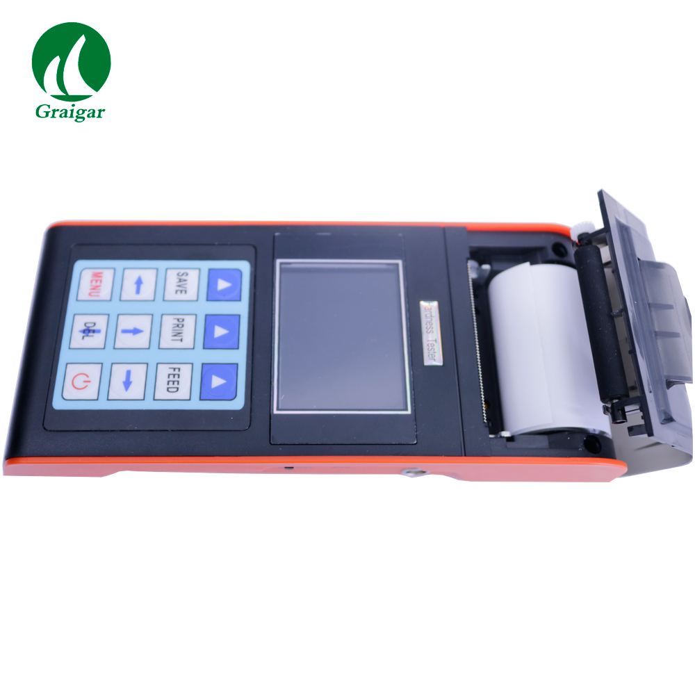 NDT290+ Portable Hardness Tester with Printer and LCD Display