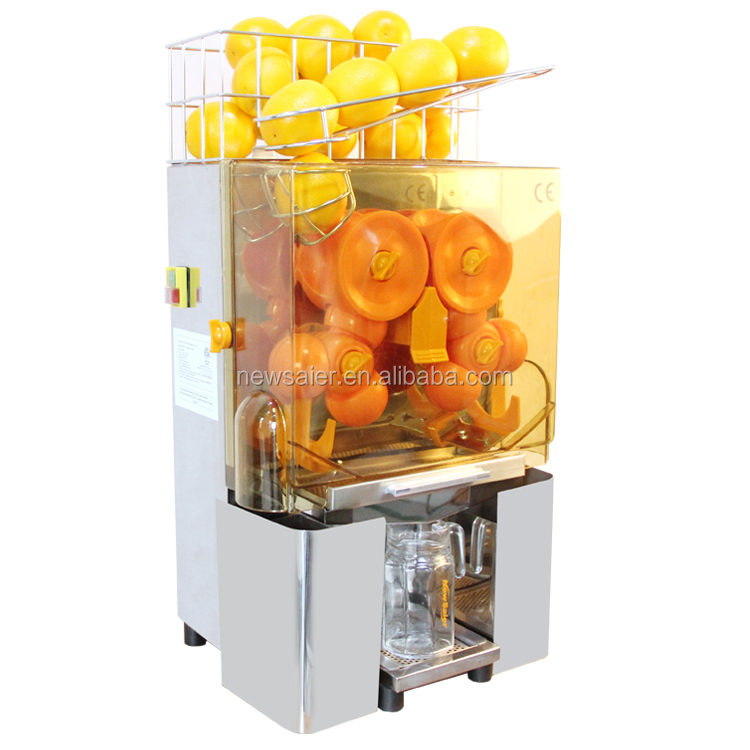 commercial auto feed orange juicer juice machine