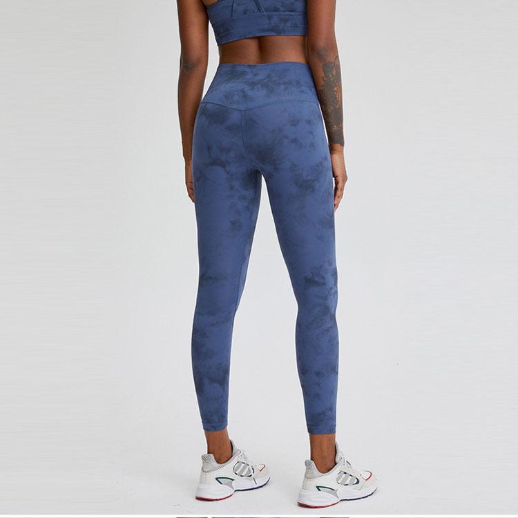 Instergram Best Seller High Waisted Custom Printed Stretchy Sports Workout Tights Nylon Fitness Yoga Pants Leggings For Women