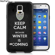 Мягкий чехол для телефона MaiYaCa с цитатой игры трона для samsung Galaxy S5 S6 S7 edge S8 S9 S10 Plus Lite Note 9 5 8(Китай)